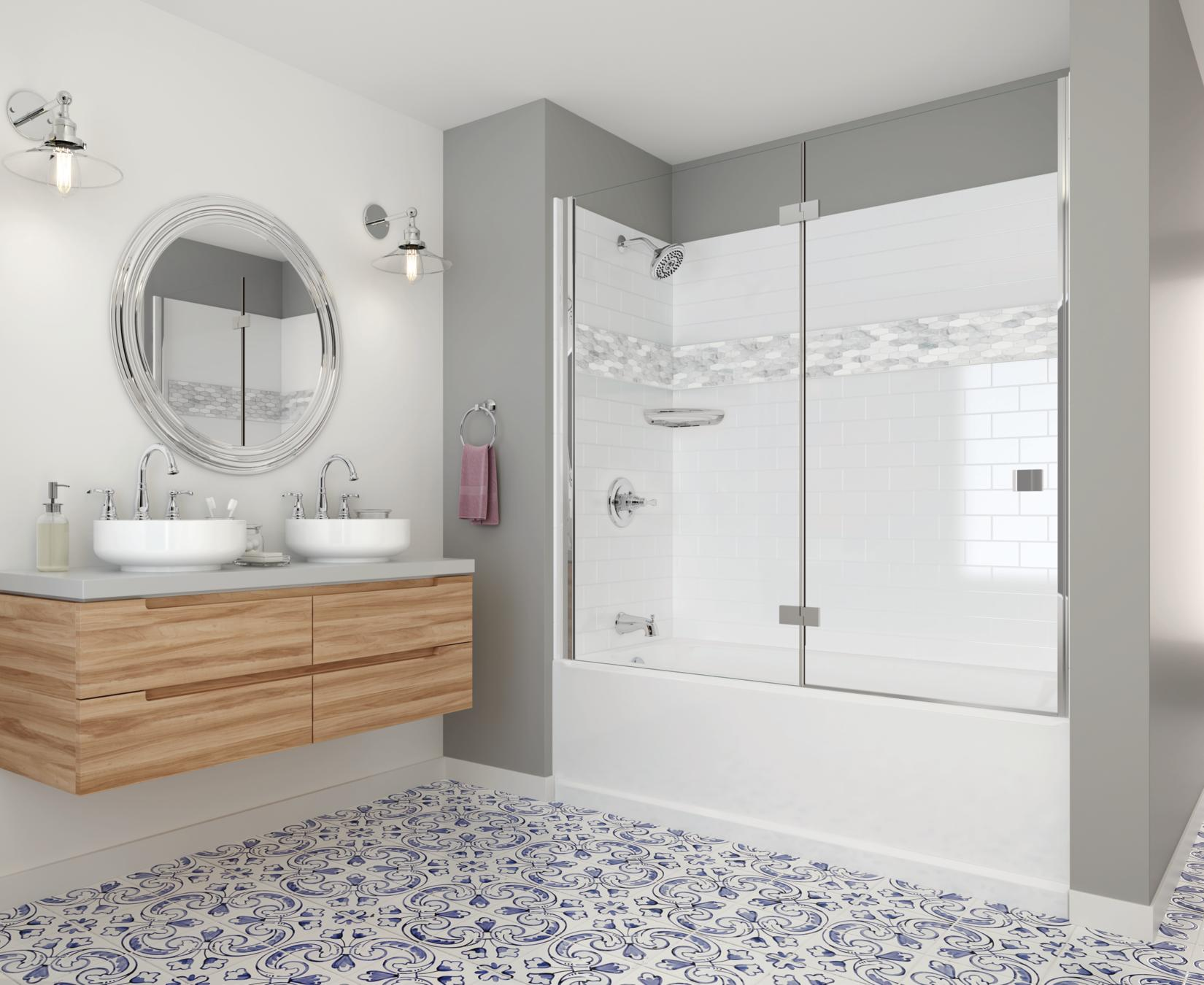 Delta UPstile Semi-Customizable Shower Collection