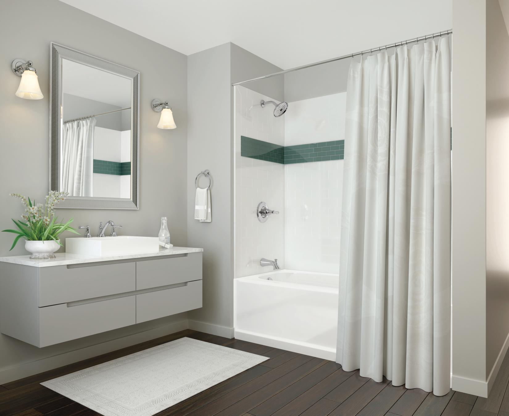 of x bathrooms aq single delta bath bathroom ended ad acrylic additional carron image